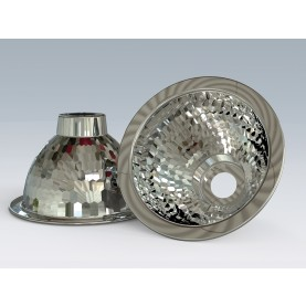 Reflektor für birnenförmige Strahler