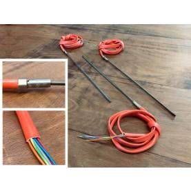 HotCoil flach - 2,2 x 4,2 mm - mit Thermoelement