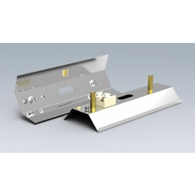 Reflektor für Keramikstrahler - RAS 1 - 100 x 60 x 254 mm